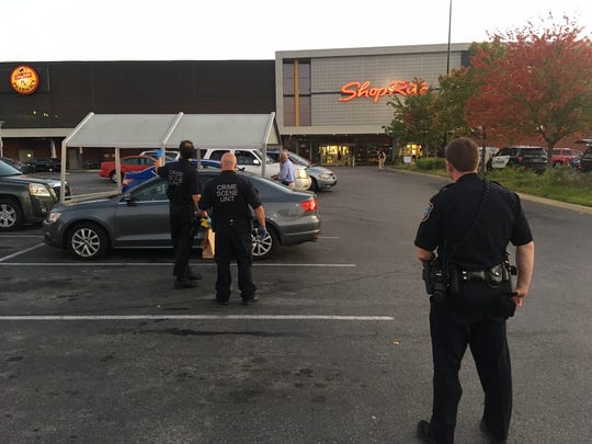 Wilmington Police said a woman was stabbed at the ShopRite on S. Market Street Wednesday evening.