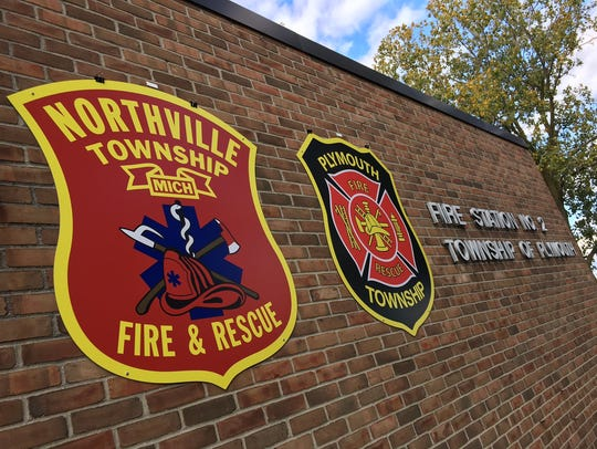 Firefighters from Fire Station No. 2 in Plymouth Township
