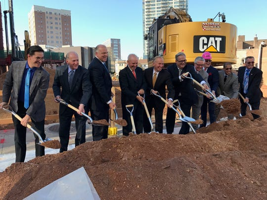 The New Brunswick Performing Arts Center broke ground