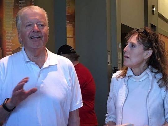Joseph Szabo and his wife, Nadine Roberts Szabo.