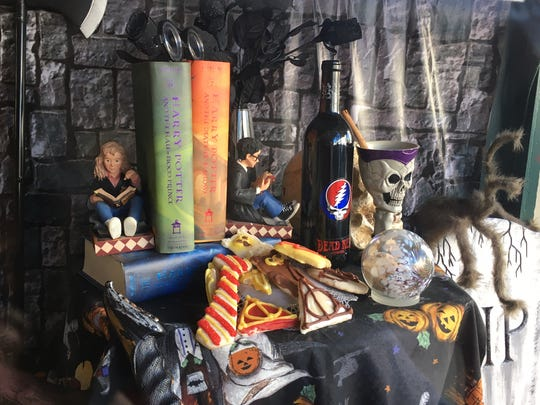 Just Cookies owner Joyce Bearint expects to bake and decorate more than 50 pounds of Harry Potter-themed cookies for sale at the Pitman Potter Festival Oct. 21.