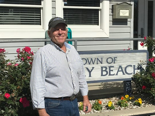 Dewey Beach Commissioner Dale Cooke.