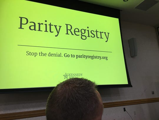The Parity Registry for mental health and addiction
