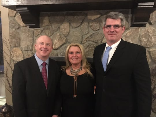 Republican candidates for Wyckoff Township Committee, from left to right: John Carolan, Hayley Shotmeyer Rooney and Timothy Shanley.