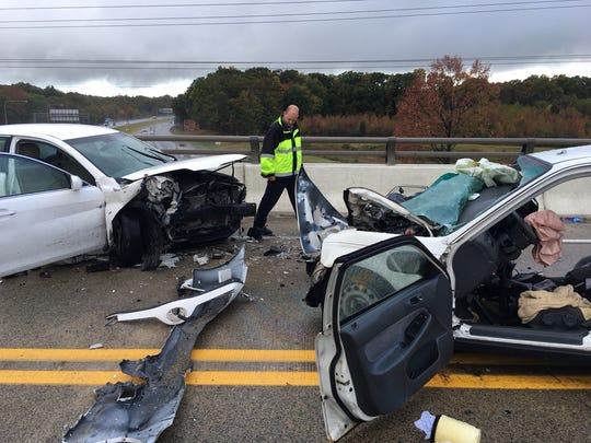 Thomas Breslin, 51, of Port Deposit, Md., was killed Tuesday in a crash on Otts Chapel Road in the Iron Hill area.
