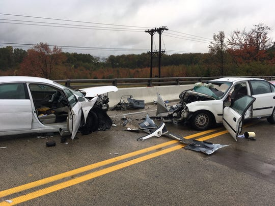 Two men have died following this crash Tuesday on Otts Chapel Road in the Iron Hill area.