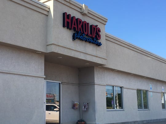 The former Harolds Photo on South Louise, now under