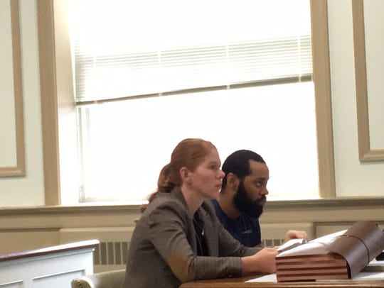 Defense lawyer Maureen Miller with admitted drug dealer