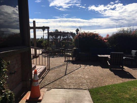 The city of Ventura has shut down the lobby, kitchen