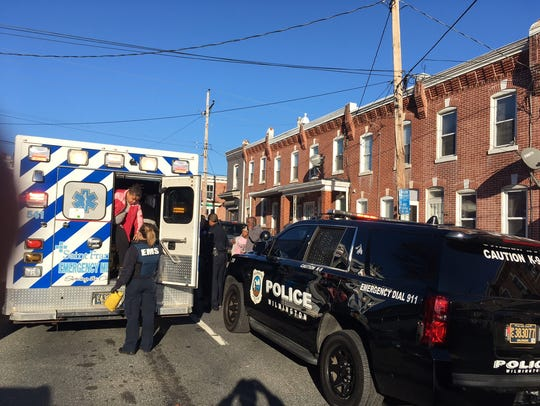 Wilmington police are investigating a stabbing on North