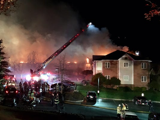 Nursing home fire