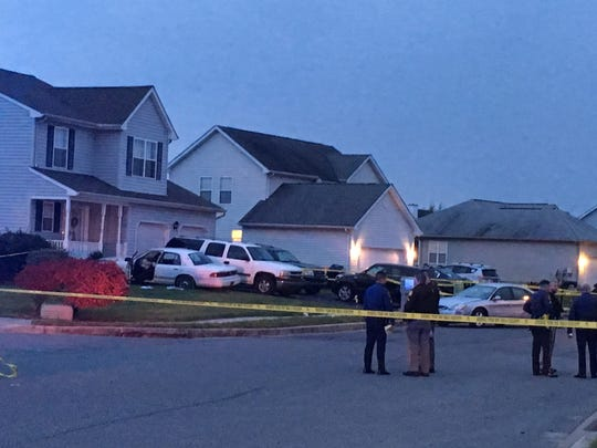 Police are investigating an apparent shooting in Middletown on the 400 block of W. Harvest Lane.