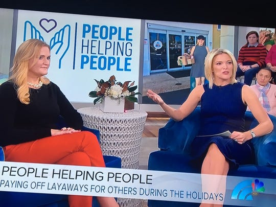 Leigh Clark of Cape Coral appeared on the Megyn Kelly Show to share her concept of random acts of kindness.