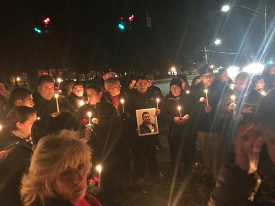 A vigil was held Wednesday, Dec. 6, 2017, for Jonathan