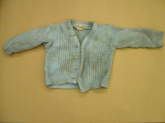 Billy Jones' sweater.