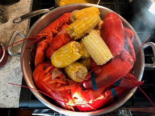 Nothing says summer like a lobster boil!
