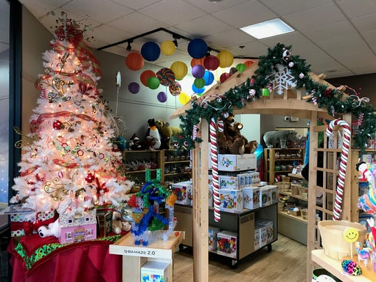 Caramel Crisp Cafe has expanded at its City Center location, growing its selection of toys, books and plenty else.