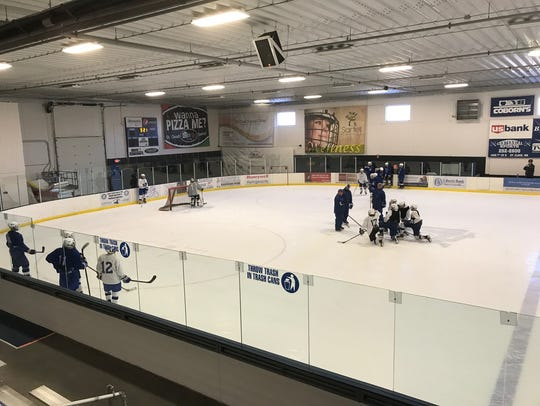 Bernick's Arena in Sartell is competing for up to $150,000 in rink upgrades as part of the annual Kraft Hockeyville Competiton. Online voting opens Saturday and closes Sunday at https://www.krafthockeyville.com/#default.