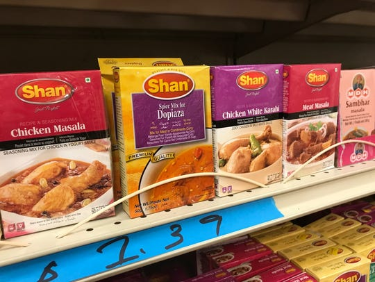 Indian spice mixes