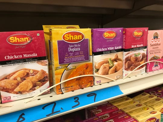 Indian spice mixes