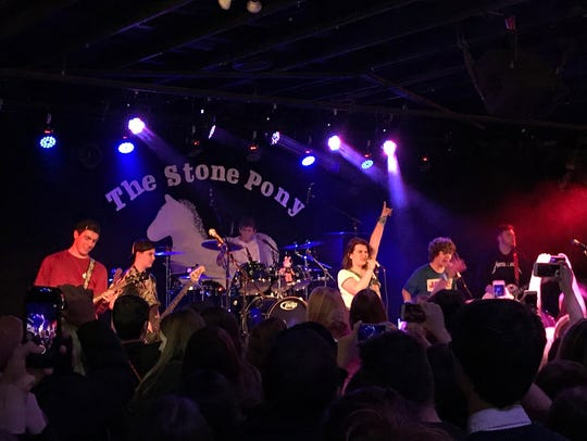 Gaten Matarazzo and Work in Progress at the Stone Pony