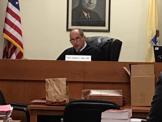 Middlesex County Superior Court Judge Joseph L. Rea