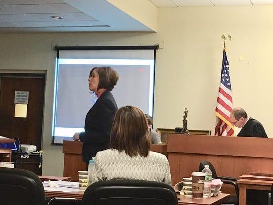 Deputy First Assistant Prosecutor Christie Bevacqua