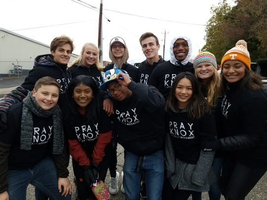 Young people are a key part of PrayKnox, a multi-ethnic, multi-generational prayer movement in Knox County. Young people lead the monthly prayer meetings.