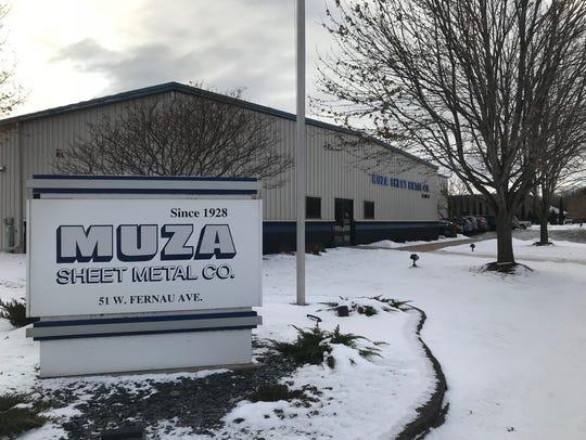 Muza Sheet Metal Co., 51 E. Fernau Ave., celebrates