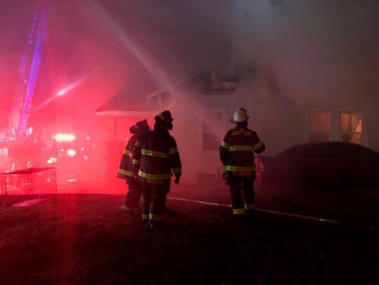 Washington Ave fire