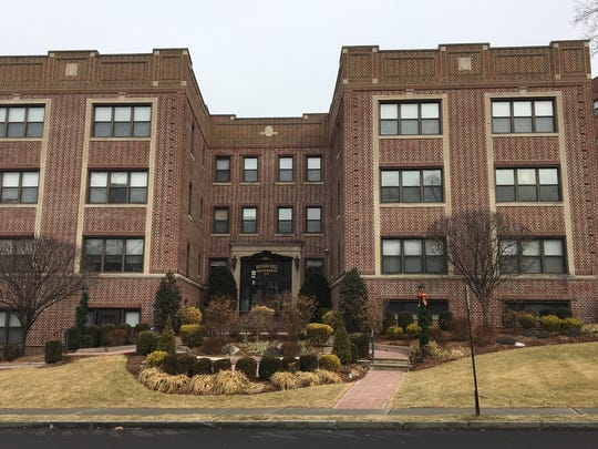 Two burglaries occurred at this Hill Street apartment complex in Morristown in December, police say.
