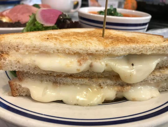 At The Corner, Grilled Taleggio Sandwich