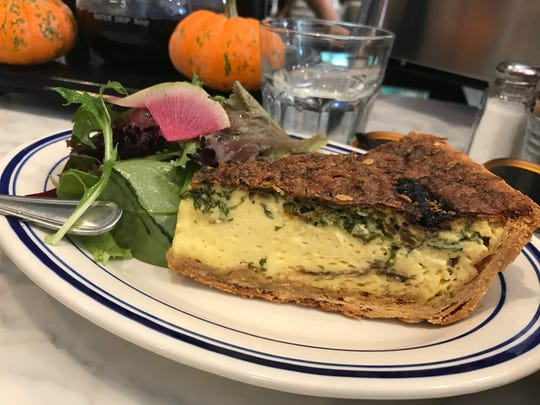 The Corner's daily quiche