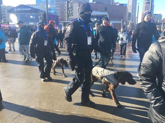 Los cuerpos de seguridad alerta en las inmediaciones