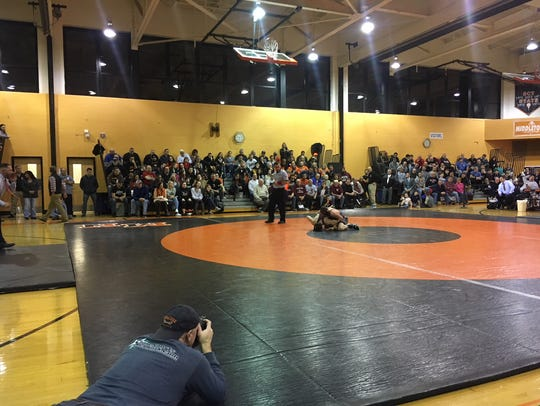 Middletown North's Tyler Klinsky defeated Cullen Day