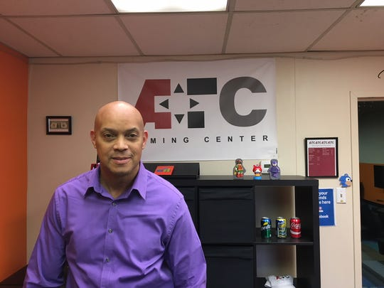 Curtis Green and his wife Tia opened AFC Gaming Center in Mount Laurel in June of 2017. The facility hosts open play, video gaming tournaments as well as birthday parties.