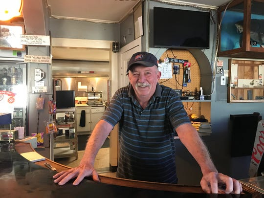 James Halbach has run Pete's Fisherman's Inn in Brothertown for 24 years. The tavern has stood for 147 years.