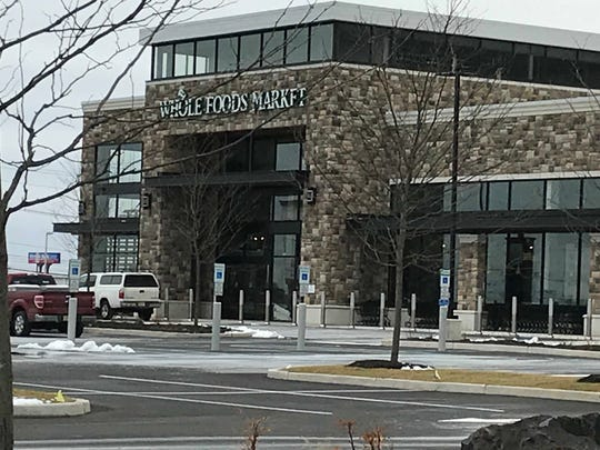 New signs are up at Chimney Rock Crossing shopping center in Bridgewater, prompting excitement frompotential shoppers. Owned by Regency Centers, stores are set to start opening the first week of March.
