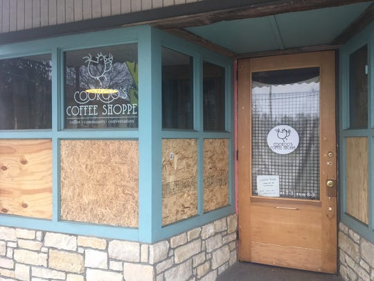 Cookoo's Coffee Shoppe in Madisonville had an armed