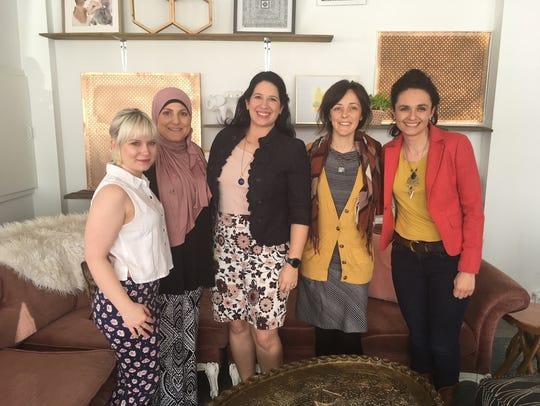 Hannah Houser, Ghada Ayesh, Katie Willocks, Jessica