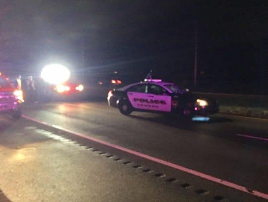 A Newark patrol  officer struck and killed a pedestrian