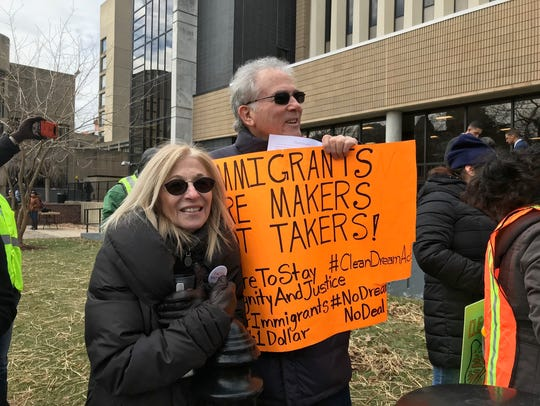 The march was schedule for March 5, the day the Trump