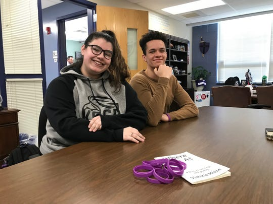Old Bridge High School senior Victoria Mione, 17, is organizing an event at the high school March 14 that will include a moment of silence and student speakers. She is aided in her endeavor by senior and student Senate President Randall Anderson. The school also is doing two in-house fundraisers to benefit the GoFundMe account set up by Parkland, Florida, for the school and community and March for Our Lives. They are selling bracelets and shirts to benefit the cause.