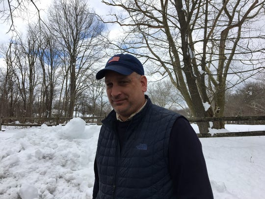 Harding Township Committeeman Tim Jones slept at a motel for three days when power went out at his home on March 2. He then used a generator until Friday, when power was being restored to Sand Spring Road.