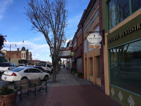 Downtown Santa Paula.