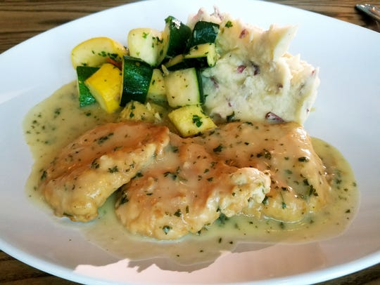 Tutto Fresco's Chicken Francese was three pieces of