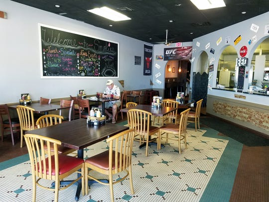 Smokies' dining area at 2507 South U.S. 1 in Fort Pierce.