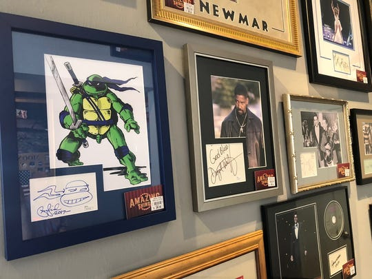 Signed pop-culture memorabilia at Amazing Things in