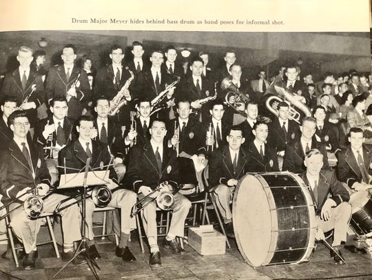 At Union, William Meyer directed the student band,