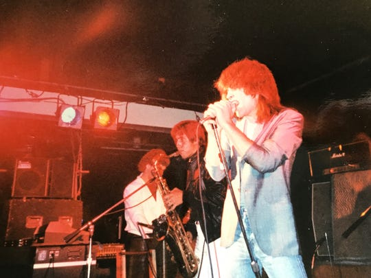 John Bongiovi and the Wild Ones at the Fast Lane in 1981.